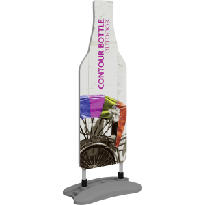 Contour Outdoor Sign Bottle - Water Base